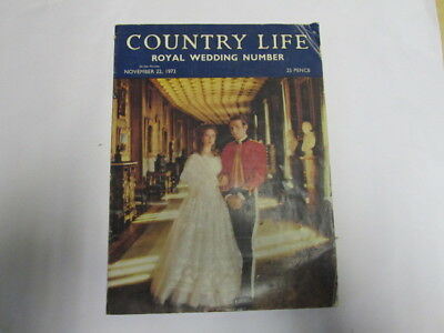 Acceptable - Country Life vol.CLIV no.3987, November 22 1973: Royal Wedding Numb