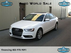 2014 AUDI A4 -2.0T |PREMIUM PACK-LOW KM