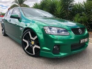 2010 Holden Commodore VE II SV6 Green 6 Speed Automatic Sportswagon