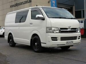 2008 Toyota Hiace TRH201R MY07 Upgrade LWB White 4 Speed Automatic Van Condell Park Bankstown Area Preview