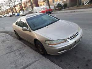 2002 Honda Accord Coupé (2 portes)
