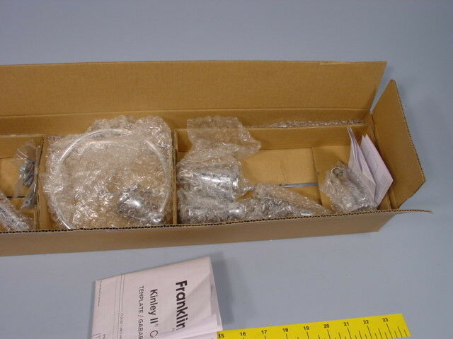 Franklin Brass KIN3PC-PC Brass Kinla Kit , Polished Chrome