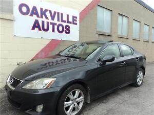 2007 Lexus IS 250-PUSH BUTTON START-SUNROOF-