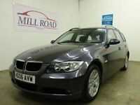 BMW 3 SERIES 2.0 320D SE TOURING 5d 161 BHP NEW CLUTCH AND FLY (grey) 2006