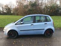 2005 Fiat Idea 1.4 16v Dynamic Dualogic 5dr~Only 61k miles~MOT 06/18~P/X Welcome