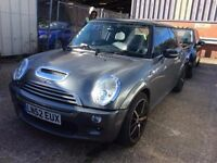 2002 MINI COOPER S 1.6 PETROL MANUAL HATCHBACK EXCELLENT DRIVE LONG MOT CHEAP CAR NO CORSA FOCUS ONE