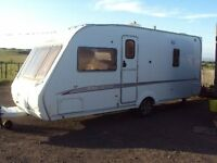 SWIFT CHALLENGER 500 4 BERTH CARAVAN 2005