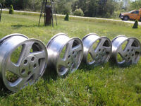"Summer is coming,Come to check these excellent 15"" Aluminum Rims"