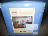 Madison Waterproof Pet Protection Chair Cover Blue, New