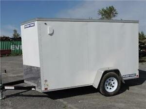 Remorque fermée ST 5X10 / Enclosed Trailer
