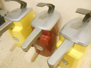 Large Ketchup & Mustard Dispensers