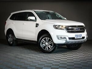 2018 Ford Everest UA 2018.00MY Trend RWD White 6 Speed Sports Automatic Wagon