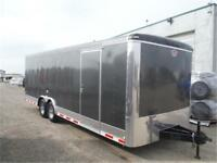 8.5 x 24 Cargo Trailer *Ramp, +6 Height, LED, 12K GVWR* TAXES IN