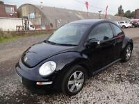VW BEETLE 1.6 LUNAR~06/2006~5 SPEED MANUAL~1 LADY OWNER FROM NEW~STUNNING BLACK