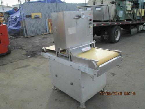 JACCARD MDL. HORD II COMMERCIAL MEAT FLATTENING MACHINE / MEAT PRESS W/CONVEYOR