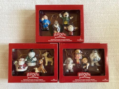 Rudolph Island of Misfit Toys Christmas Ornament Collection 12 Pieces Kurt Adler