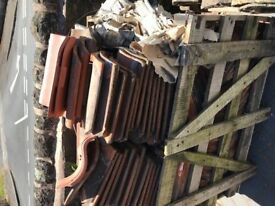 Reclaimed Pantiles from my (around the turn of the 19th century) roof, some 2500 remaining