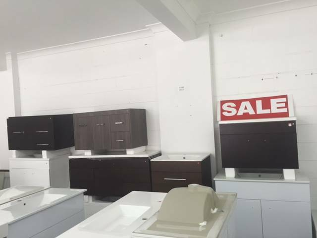 Wall hung vanity (seconds) - bathroom warehouse outlet ...