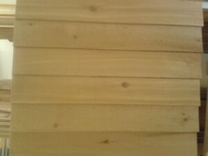 1 x 6 Pine Bevelled Clapboard Siding for Sale
