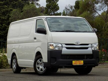 2015 Toyota Hiace KDH201R LWB White 4 Speed Automatic Van Enfield Port Adelaide Area Preview