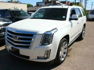 2015 Cadillac Escalade PREMIUM WHITE DIAMOND 6.2 V8 LOW KMS
