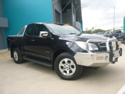 2014 Holden Colorado RG MY14 LTZ Space Cab Black 6 Speed Sports Automatic Utility