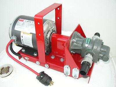 New 10 Gpm Gear Pump Waste Oil Transfer Heatersburnersfurnacedayton Motor