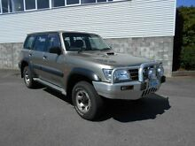 2001 Nissan Patrol GU III ST (4x4) Gold 4 Speed Automatic Wagon Devonport Devonport Area Preview