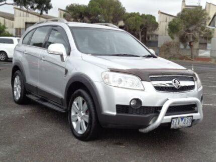 2010 Holden Captiva CG MY10 LX (4x4) Silver 5 Speed Automatic Wagon Maidstone Maribyrnong Area Preview