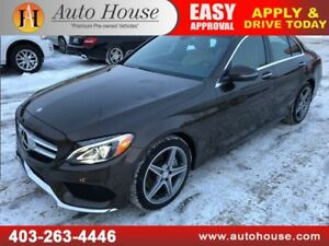 2016 MERCEDES BENZ C300 4MATIC NAVIGATION BACKUP CAMERA