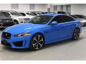 2013 Jaguar XF XFR-S CARBON FIBER INTERIOR! SWEDE ROOF! 550HP!