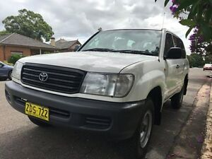 TOYOTA  LANDCRUISER  100 SERIES 4X4 DIESEL Croydon Burwood Area Preview