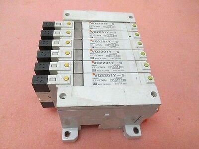 6 SMC VQ2201Y-5 Pneumatic solenoid valves