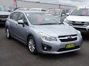 2014 Subaru Impreza G4 MY14 2.0i Lineartronic AWD Silver 6 Speed Constant Variable Hatchback Albion Park Rail Shellharbour Area Preview