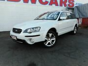 2004 Subaru Outback B4A MY04 R AWD Premium Pack White 5 Speed Sports Automatic Wagon Yeerongpilly Brisbane South West Preview