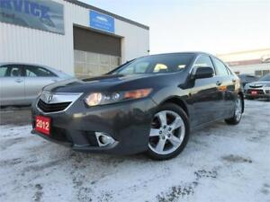 2012 Acura TSX Prem Pkg,S ROOF,LEATHER,WARRANTY,W TIRES,$13,695