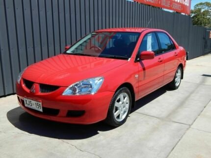 2006 Mitsubishi Lancer CH MY06 LS Red 4 Speed Sports Automatic Sedan