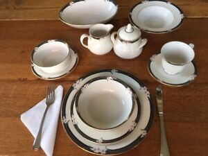 Royal Doulton China Set (Enchantment Pattern)