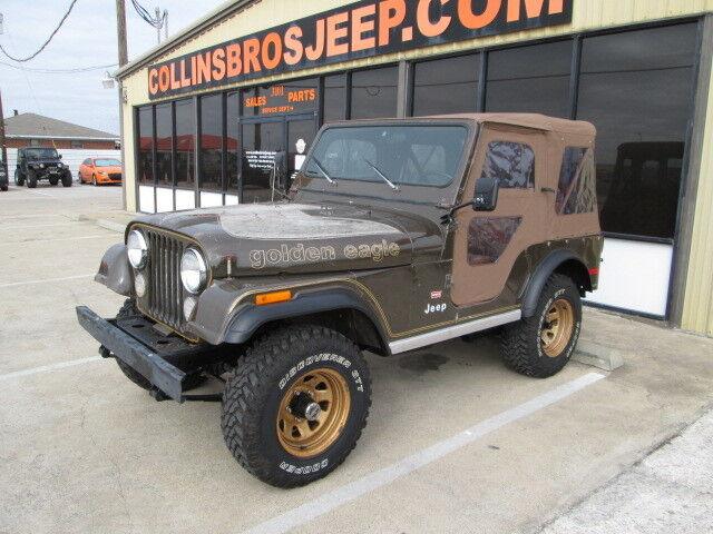 1978 jeep cj5 golden eagle v8 survivor used jeep cj for sale in wylie texas search. Black Bedroom Furniture Sets. Home Design Ideas