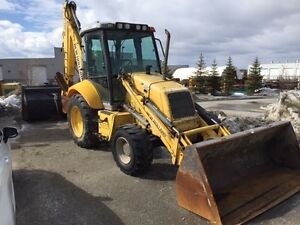 2006 New Holland B110 4X4 Backhoe/ Quick Attach