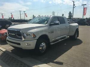 2017 RAM LIMITED MEGA CAB DUALLY  ASIN FULL LOAD  READY TO HAUL
