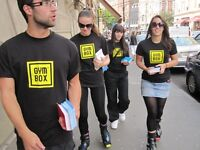 Experienced Gym Staff / Gym Bunnies- Burn Calories By Talking! - Earn £10 Per Hour With StreetPR!