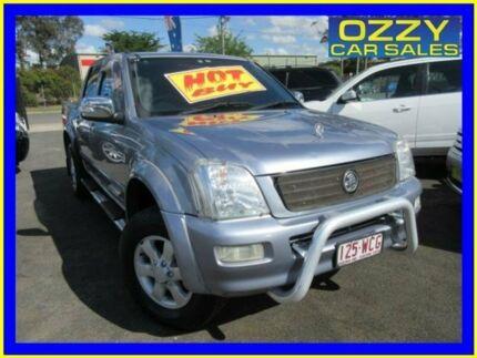 2006 Holden Rodeo RA MY06 Upgrade LT Blue 4 Speed Automatic Crew Cab Pickup Minto Campbelltown Area Preview