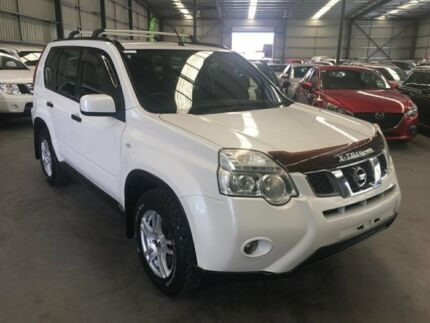 2010 Nissan X-Trail T31 MY10 ST White 6 Speed Manual Wagon Murarrie Brisbane South East Preview