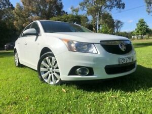 2012 Holden Cruze JH MY12 CDX 6 Speed Automatic Sedan Tuggerah Wyong Area Preview