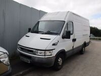 breaking iveco 2.3 2005 engine complete
