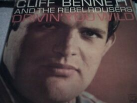 Vinyl LP Cliff Bennett & The Rebel Rousers Drivin' You Wild