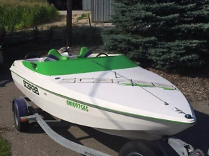 1997 19' Scarab jet boat ready to go