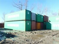 40' & 20' Steel Shipping storage containers seacan