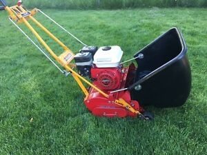Mclane Honda 5.5HP OHV Self Propelled 10 Blades Reel Lawnmower